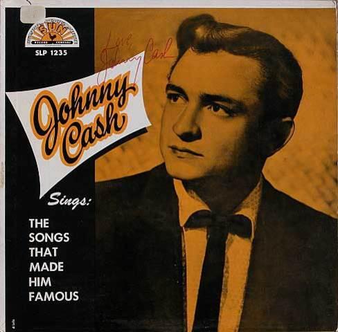 Johnny Cash records for Sun Records