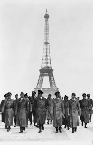 Germany invades France!