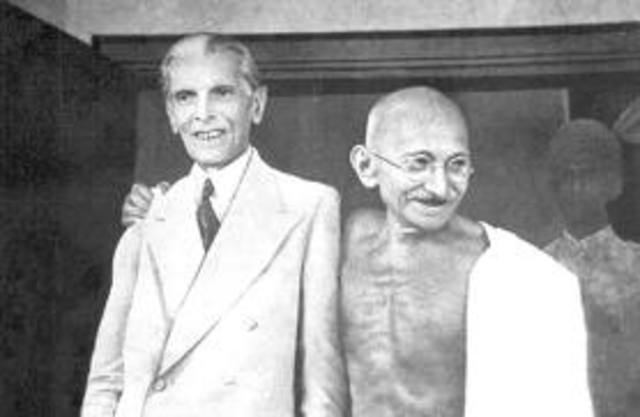Jinnah & Gandhi