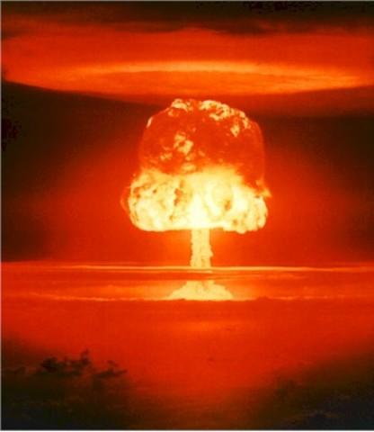 Atomic bomb dropped on Hiroshima, Japan