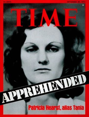 Heiress Patty Hearst Kidnapped