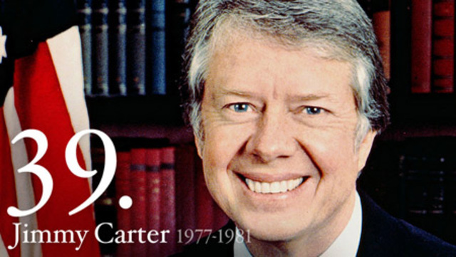 Democrat Jimmy Carter Becomes President of the United States
