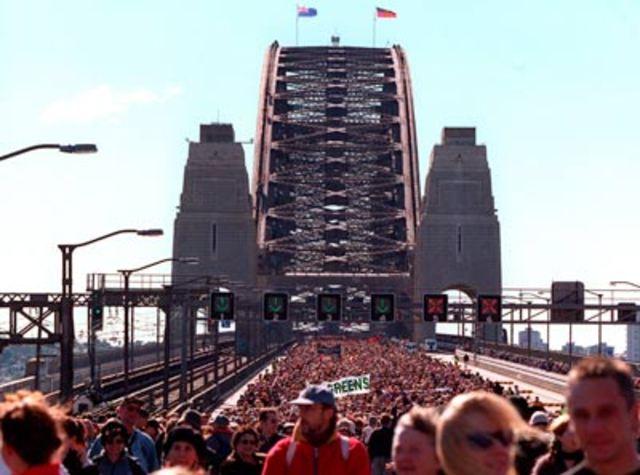Sydney Harbour Bridge Walk