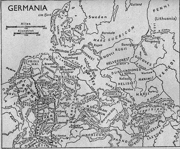 The first Germanic tribes