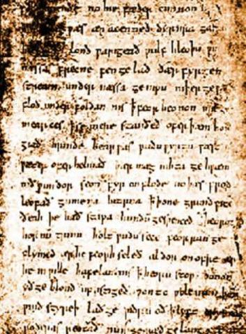 English epic poem Beowulf