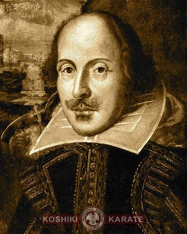 William Shakespeare writes his Sonnets