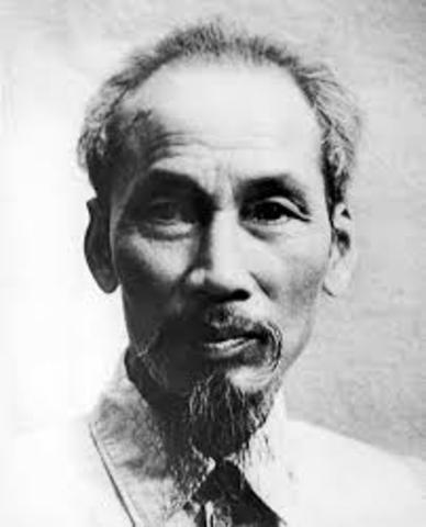 Ho Chi Minh is one of the founders of the French Communist Party; his beliefs in the communist revolution
