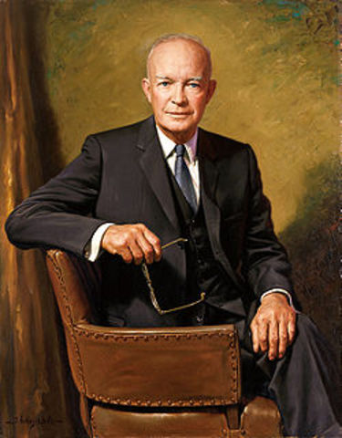 Eisenhower intervenes in Diem government and chooses to support them