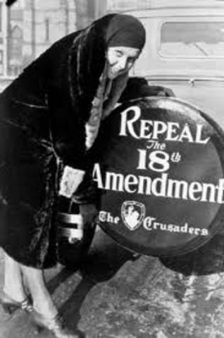 18th amendment prohibition