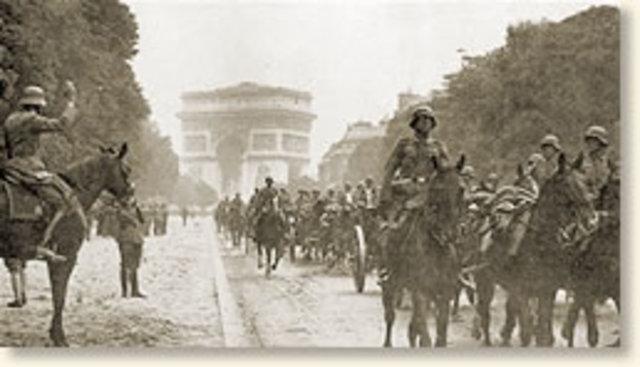 Germany enters Paris.