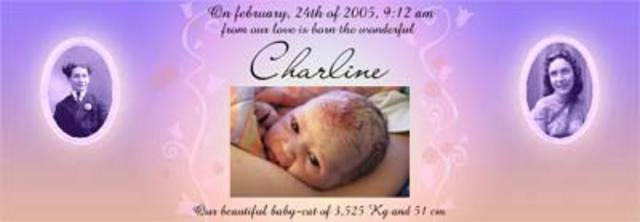 Charline birthtro