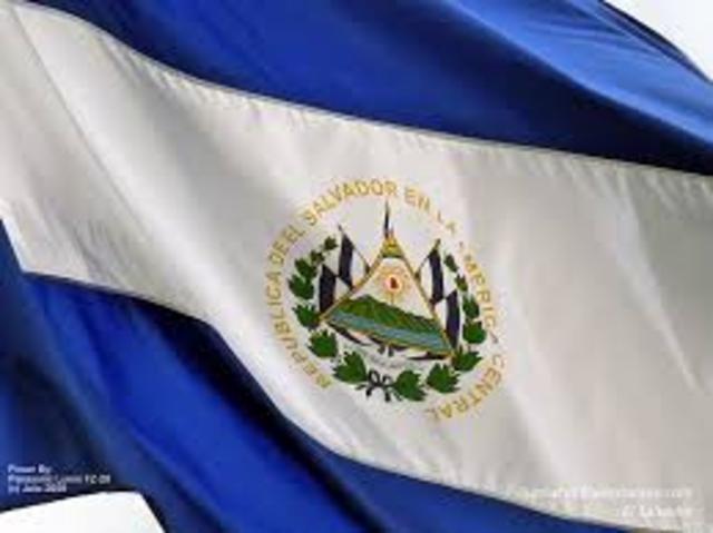 independencia del Salvador