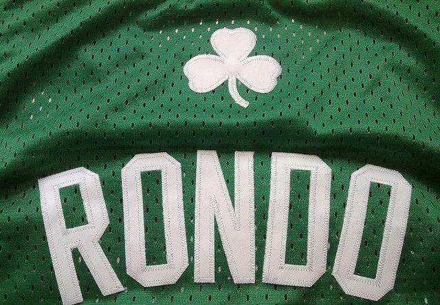 Rajon Rondo plays his first NBA game