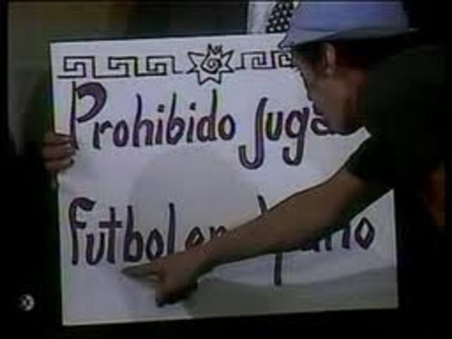EL FUTBOL PROHIBIDO