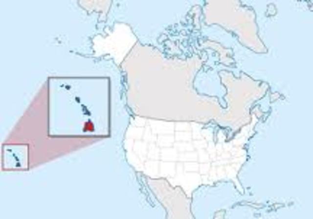 Alaska & Hawaii added to US