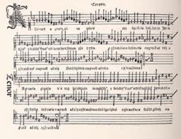 First Printed Music