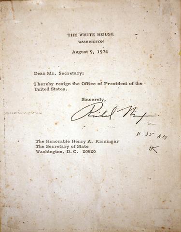 Congress Initiates Impeachment Proceedings Against Nixon