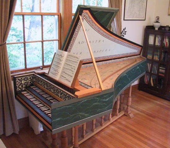 Harpsichord Invented
