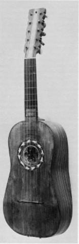 Four Course Guitar - 16th Century