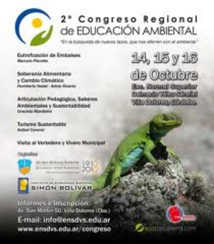 1 er y 2° Comgreso  Iberoamericano  de Educación Ambiental