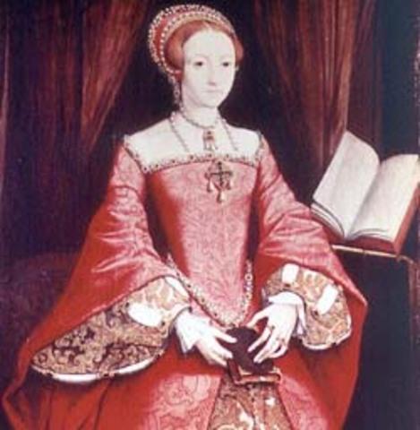 Isabel I es declarada hija ilegítima de Enrique XVIII