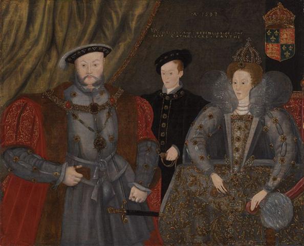 Enrique VIII reconoce a Isabel como su hija