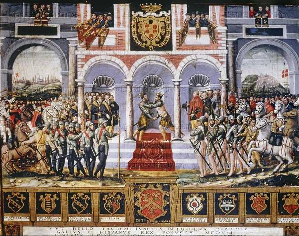 Inglaterra se une al tratado de paz de Cateau-Cambrésis