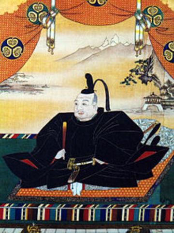 Tokugawa Ieyasu becomes Shogun