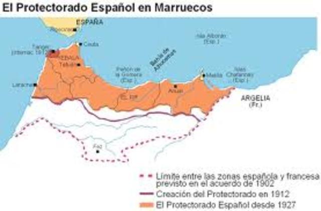 Sublevació al protectorat marroquí