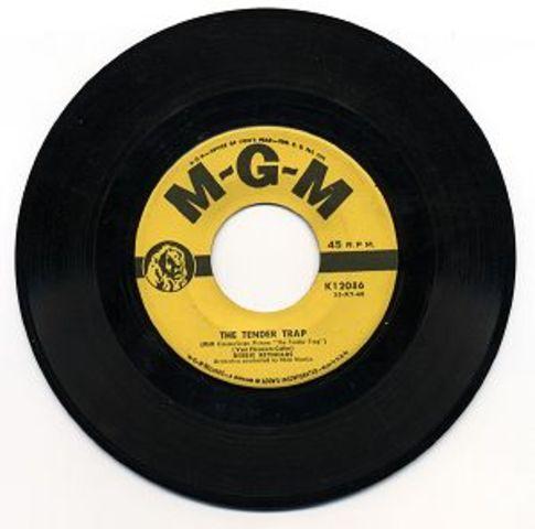 """7 inch """"single"""" record"""
