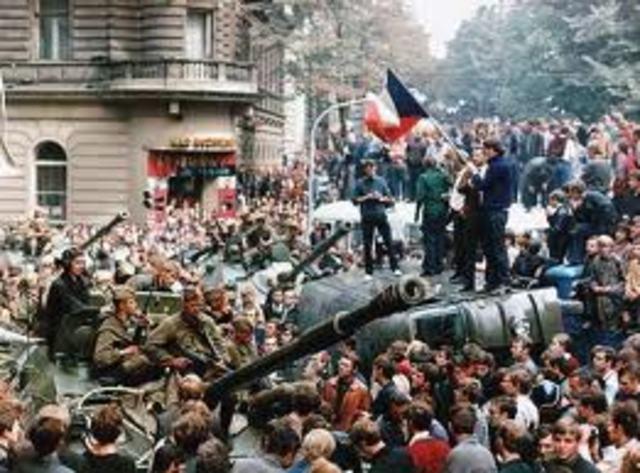 Soviet Invasion of Czechoslovakia