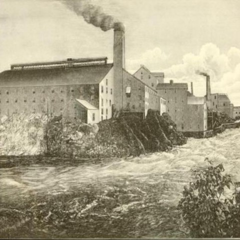 Germany papermill.