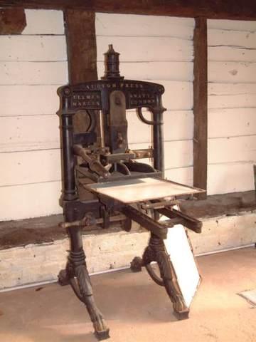 Iron press.