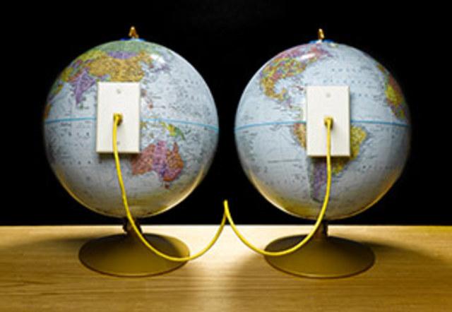 Подключение к сети первых иностранных организаций