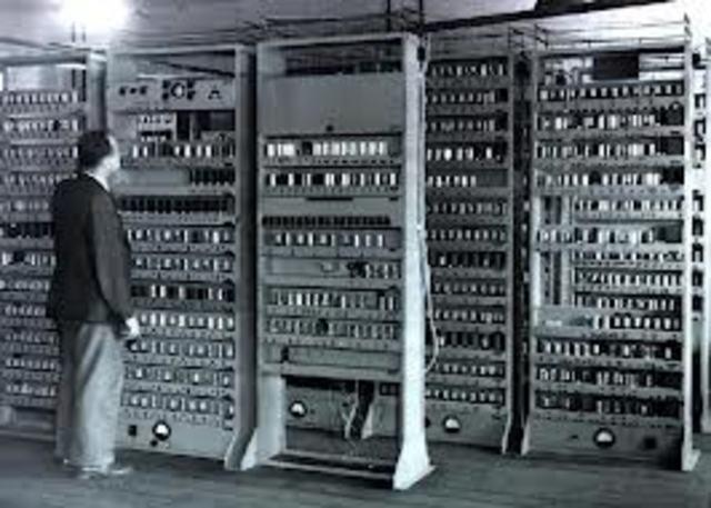 La EDSAC.