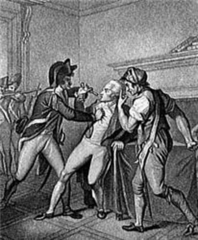 Robespierre Arrested