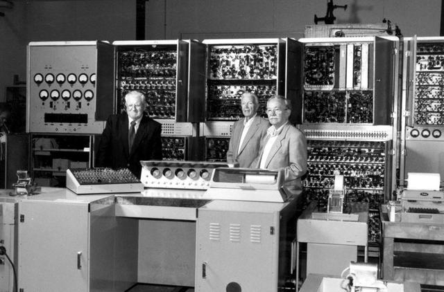 First Digital Computer