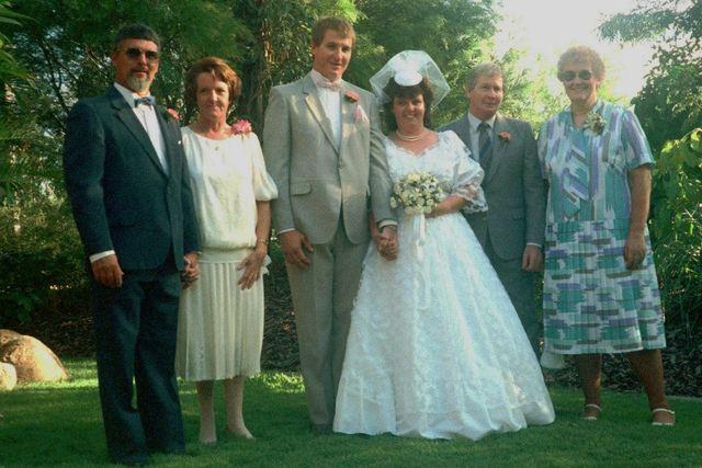 Mum and Dads 10th Wedding Anniversary