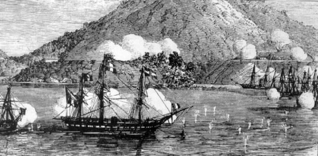 French attack on Da Nang