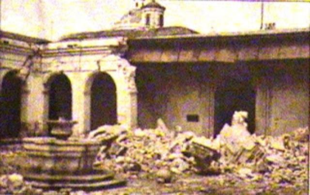Terremotos de Santa Marta