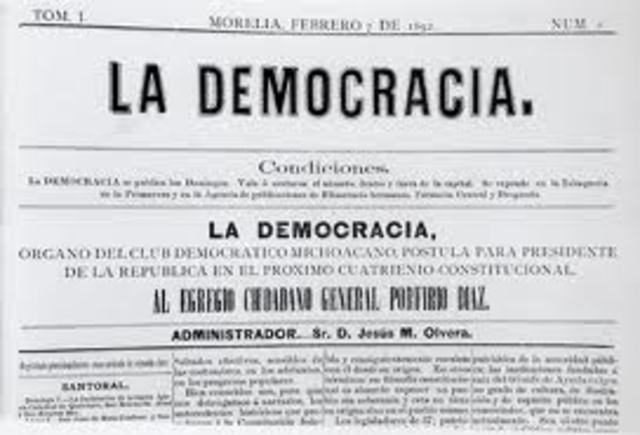 PERIÓDICO LA DEMOCRACIA