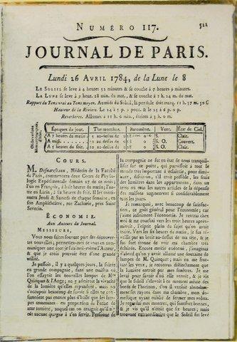 Le journal de París.