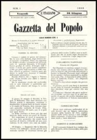 GAZZETTA DEL POPOLO