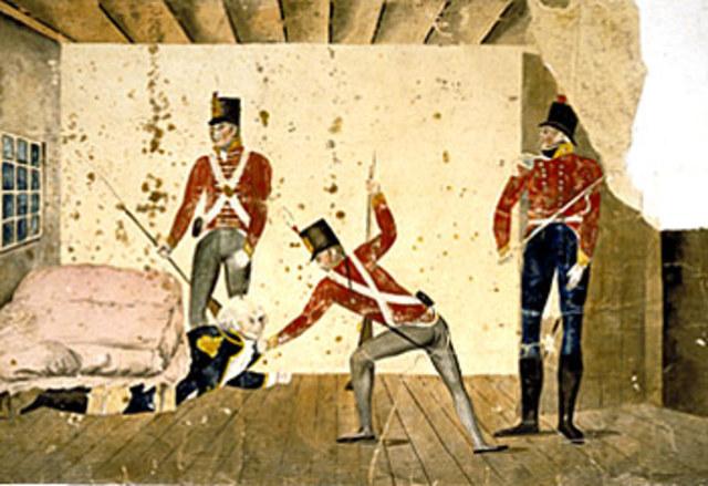 Rum Rebellion Starts