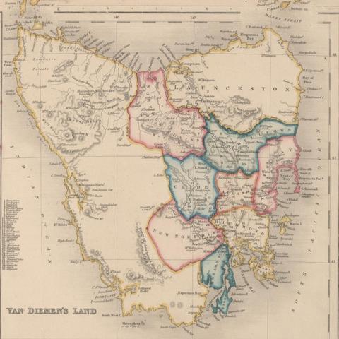 Settlement of Van Diemen's Land