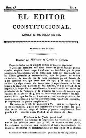 El Editor, periódico de los tribunales