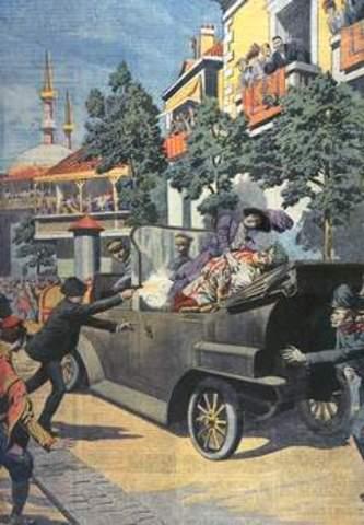 L'assassinat de l'archiduc François Ferdinand