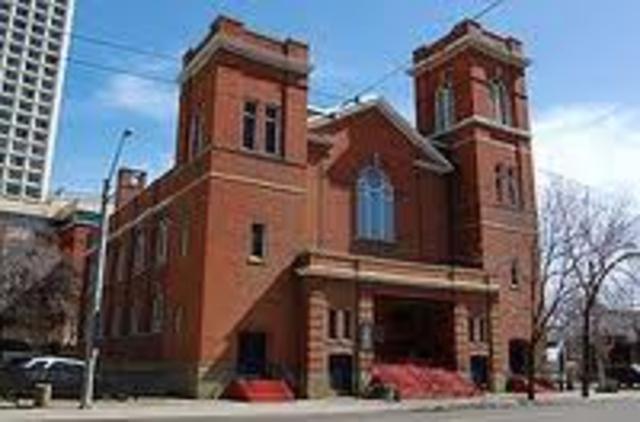 architecture. : McDougal church