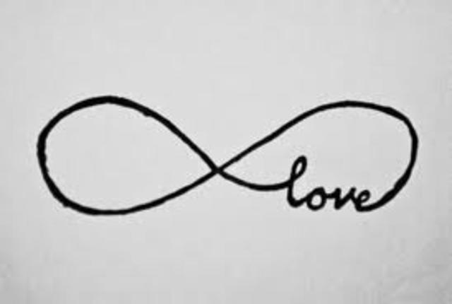 art: infinite love sign
