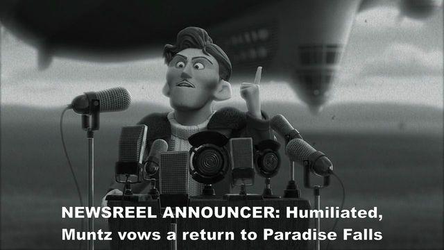 Carl becomes a fan of Charles Muntz